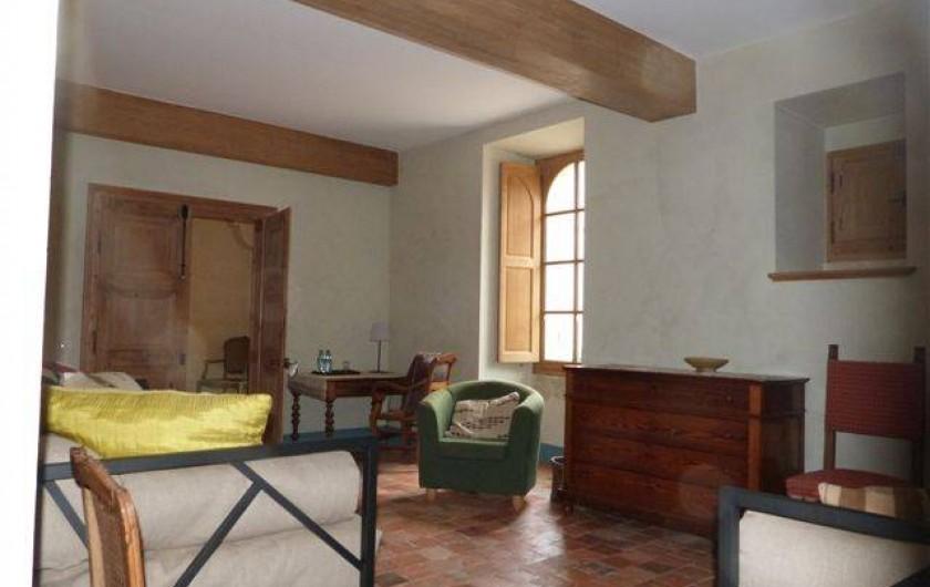 Location de vacances - Chambre d'hôtes à Vauciennes - chambre à deux lits rez de chaussée
