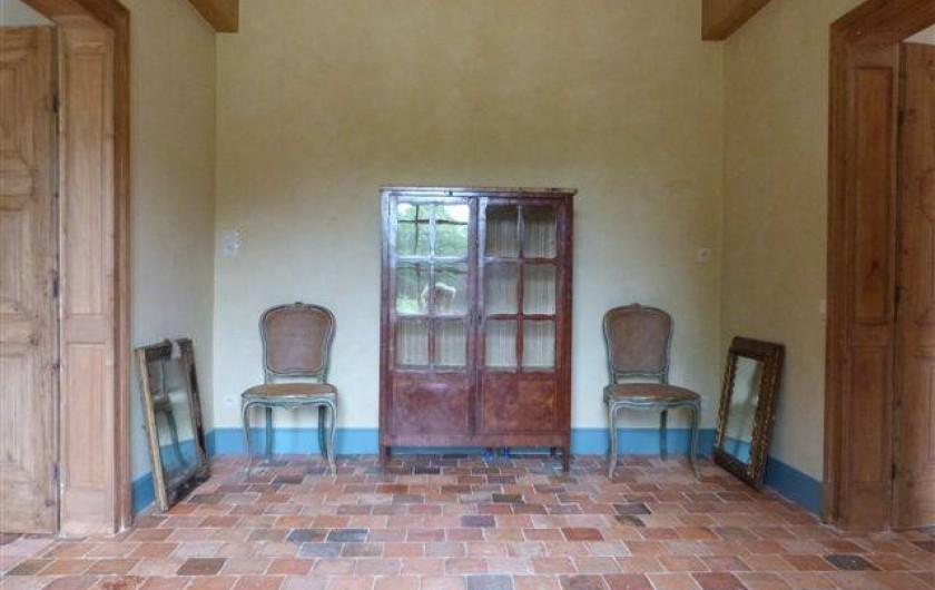 Location de vacances - Chambre d'hôtes à Vauciennes - entrée donnant accès aux chambre du rez de chaussée