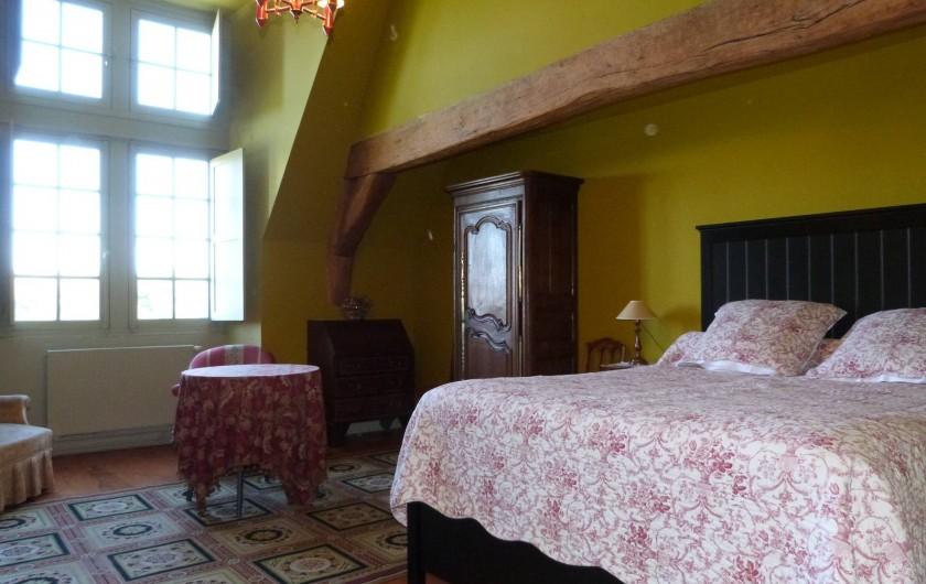 Location de vacances - Chambre d'hôtes à Vauciennes - suite familiale  de deux chambre au 2ème étage