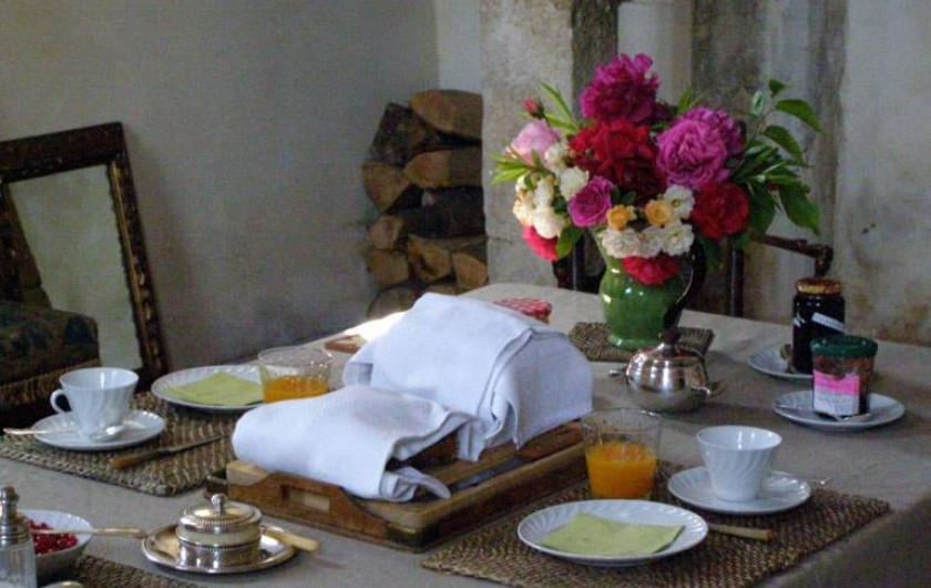Location de vacances - Chambre d'hôtes à Vauciennes - salle à manger