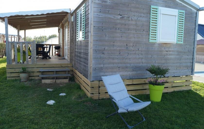 Location de vacances - Bungalow - Mobilhome à Grandcamp-Maisy - Mobilhome