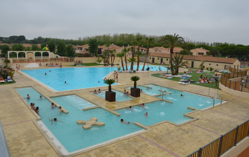 Location de vacances - Maison - Villa à Portiragnes Plage - Piscine rénovée en 2016