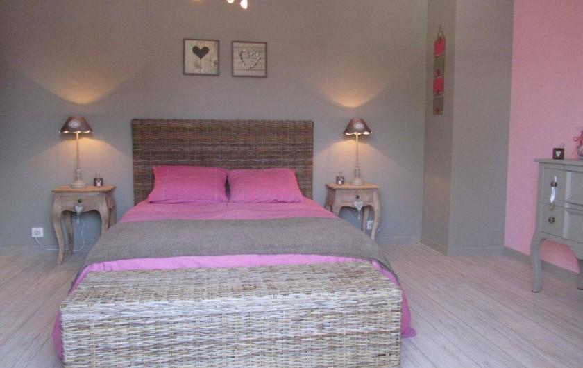 Location de vacances - Maison - Villa à Stella Plage - Chambre 1 avec balcon