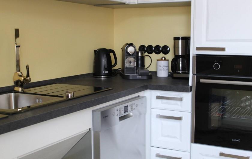 Location de vacances - Appartement à Bad Ems - Cuisine pour handicapés