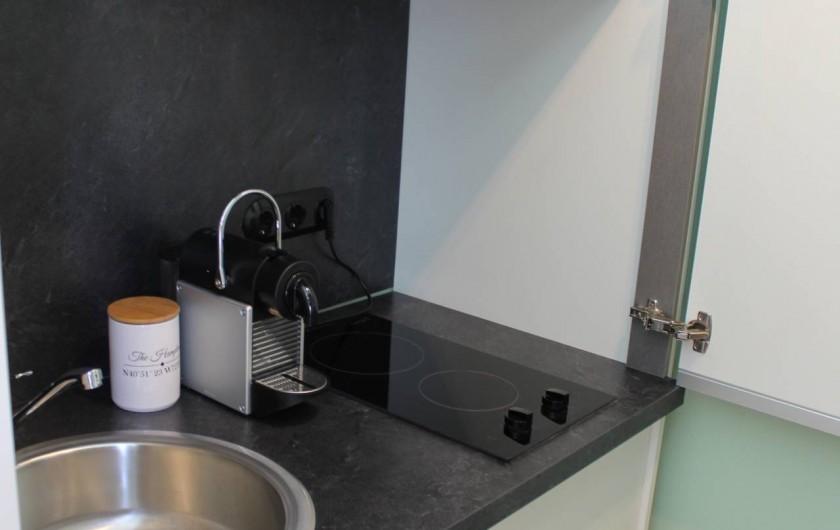 Location de vacances - Appartement à Bad Ems - Appartement 'Le Service' kitchenette