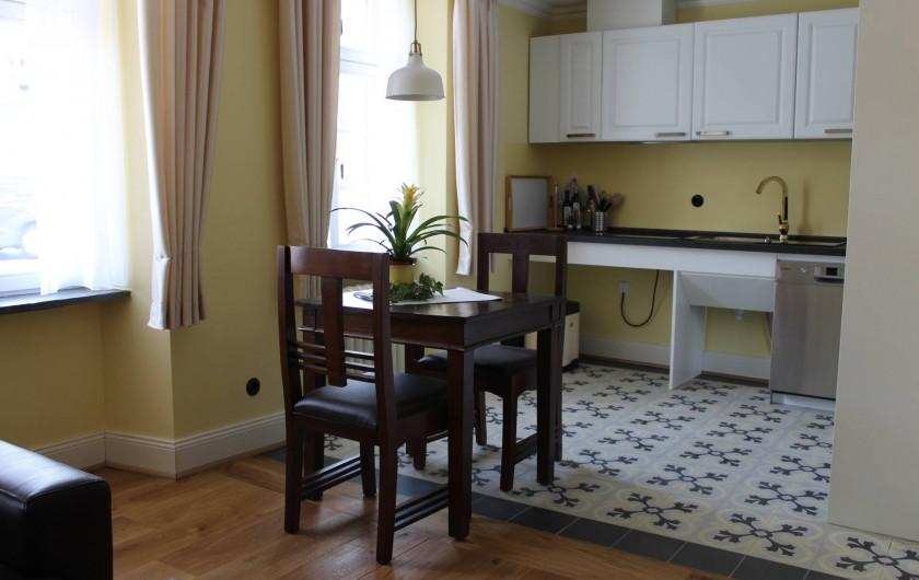 Location de vacances - Appartement à Bad Ems - Salle de séjours avec cuisine