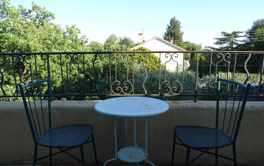 Location de vacances - Studio à Le Pradet - balcon