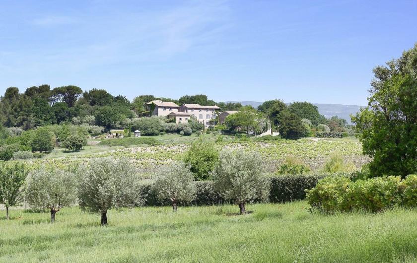 Location de vacances - Appartement à Oppède - La Bastide le Mourre