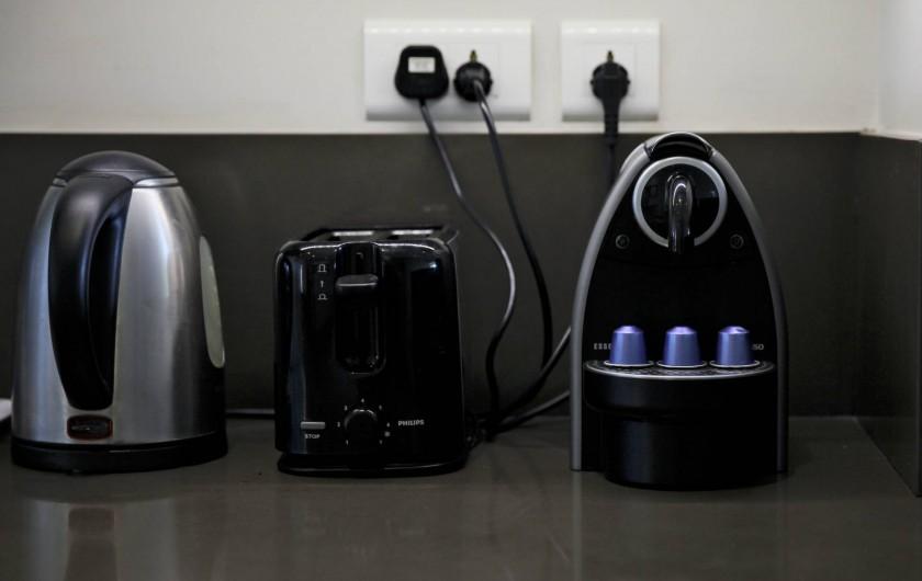 Location de vacances - Appartement à Rivière Noire - L'appartement est équipé d'appareils et accessoires de haute qualité.