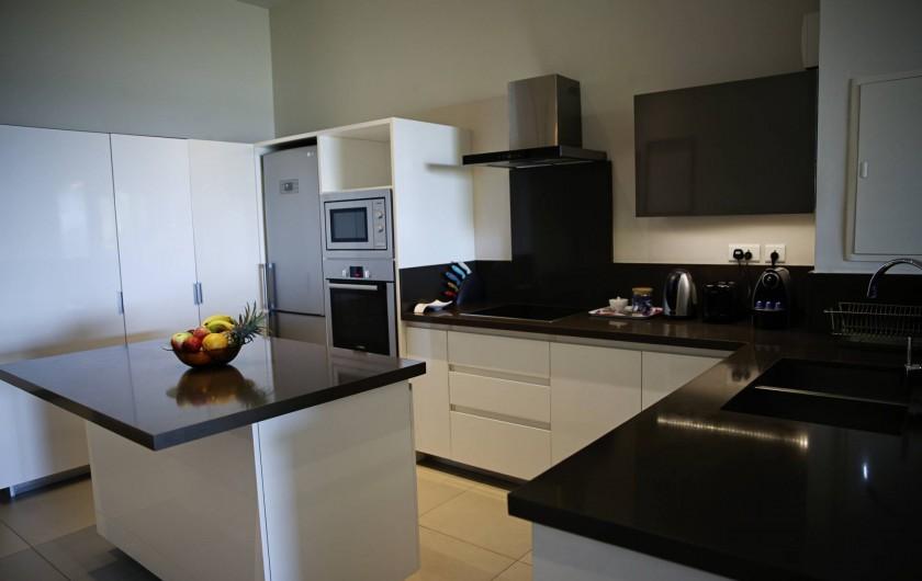 Location de vacances - Appartement à Rivière Noire - Cuisine Moderne
