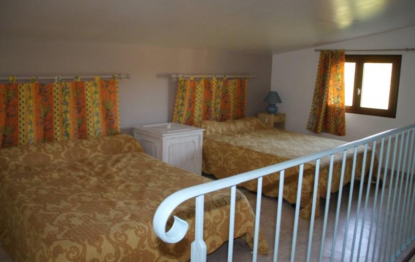Location de vacances - Gîte à Saint-Victor-de-Malcap - mezzanine