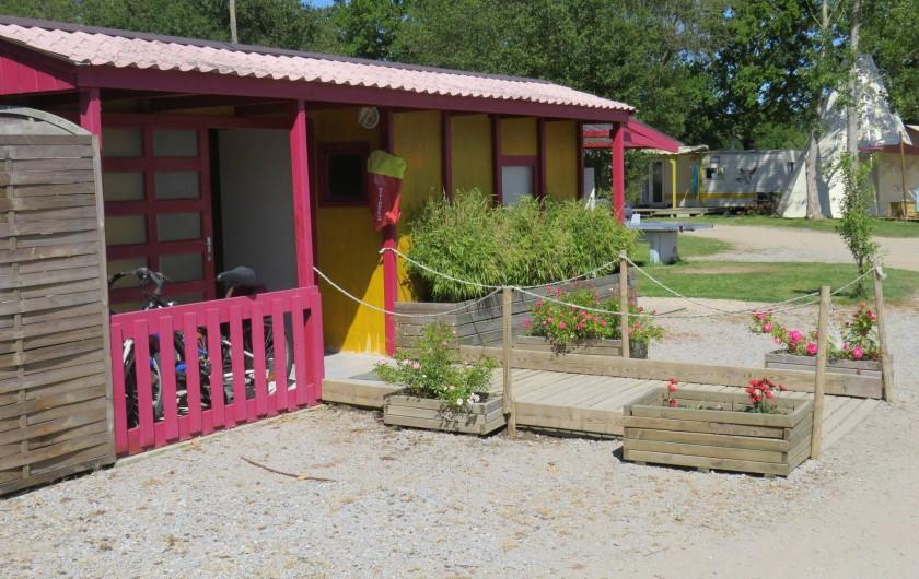 Location de vacances - Camping à Sallertaine - Bloc sanitaire