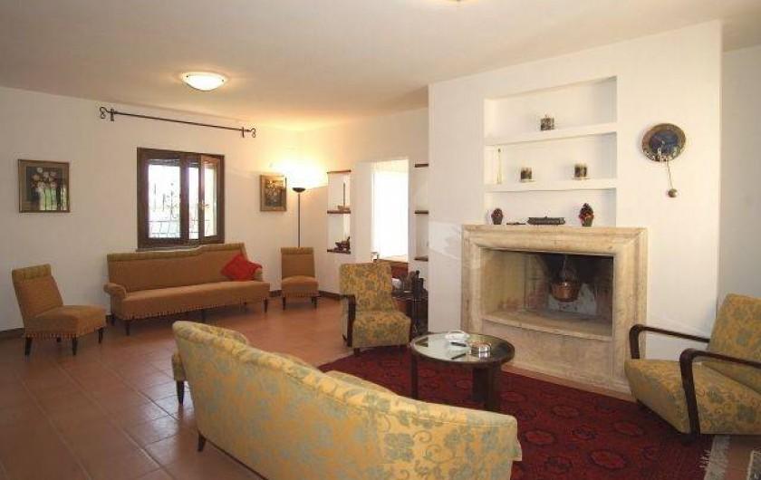Location de vacances - Villa à San Venanzo - Le Salon
