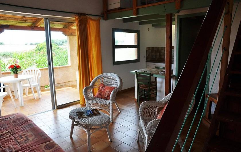 Location de vacances - Appartement à Porticcio - Pavillons pour 2 personnes