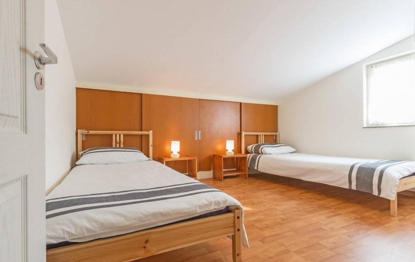 Location de vacances - Appartement à Banjole - CHAMBRE à deux lits