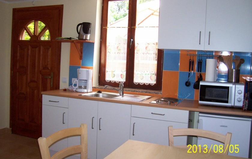 Location de vacances - Appartement à Banjole - CUISINE