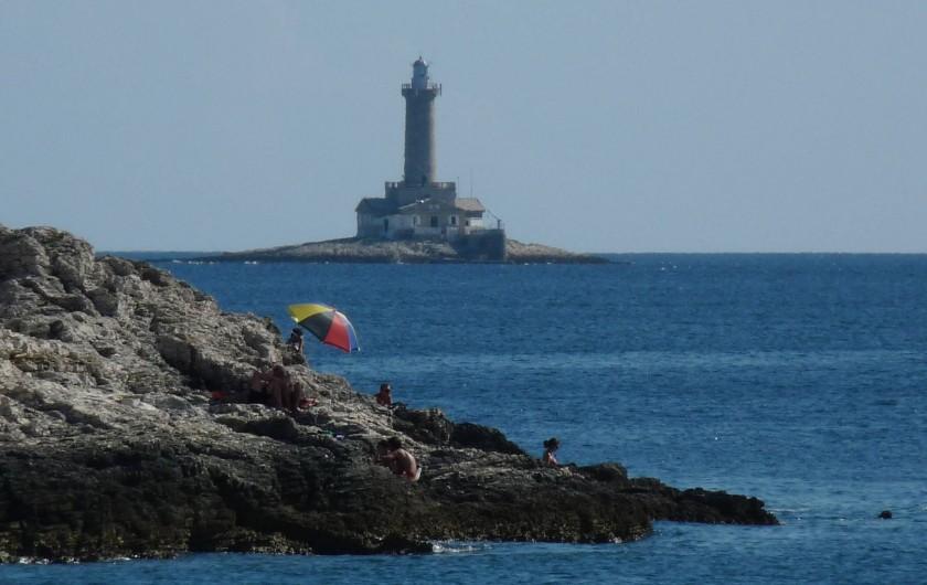 Location de vacances - Appartement à Banjole - la mer et  phare