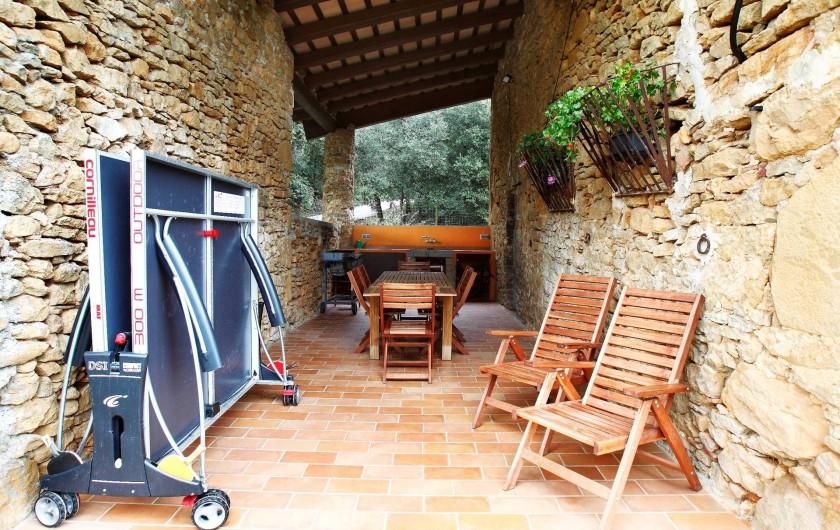 Location de vacances - Mas à Gérone - Porche