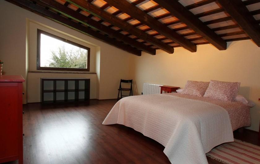 Location de vacances - Mas à Gérone - Chambre haut (+ lit pliant double)