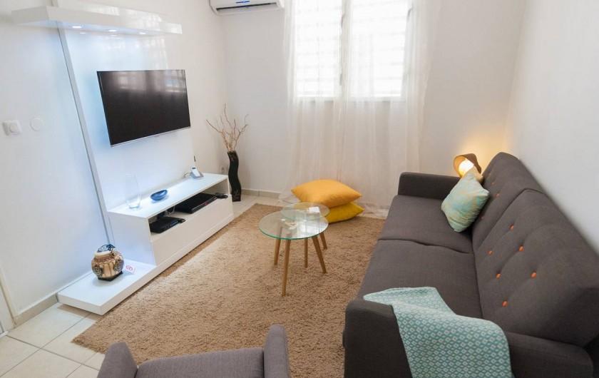 Location de vacances - Studio à Sainte-Anne - Carambole : espace salon