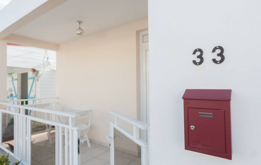 Location de vacances - Studio à Sainte-Anne - Carambole, terrasse