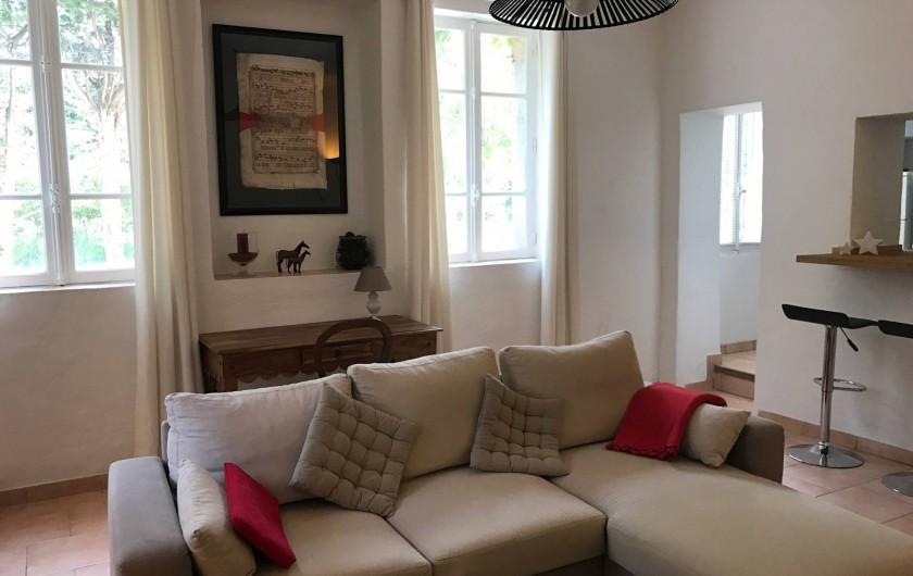 Location de vacances - Maison - Villa à Aix-en-Provence - (Salon 23m²)