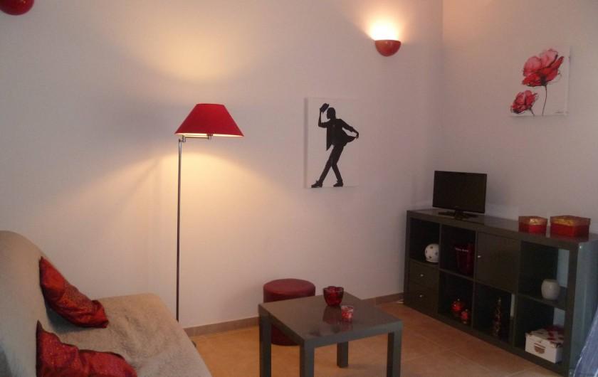 Location de vacances - Gîte à L'Isle-sur-la-Sorgue - salon