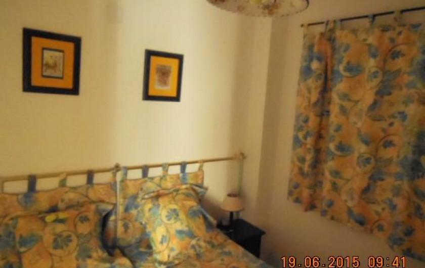 Location de vacances - Appartement à Dénia - la chambre : 2 lits de 80 qui peuvent être rapprochés pour n'en formé qu'un