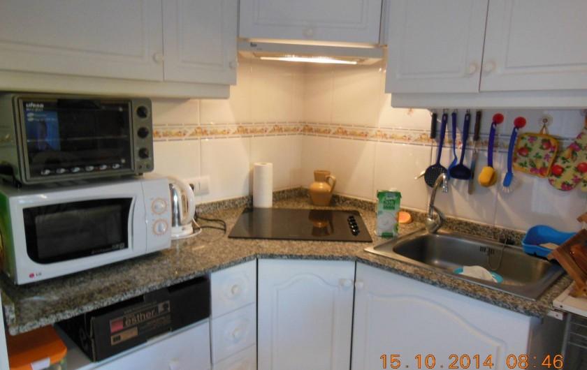 Location de vacances - Appartement à Dénia - le coin cuisine tout équipé