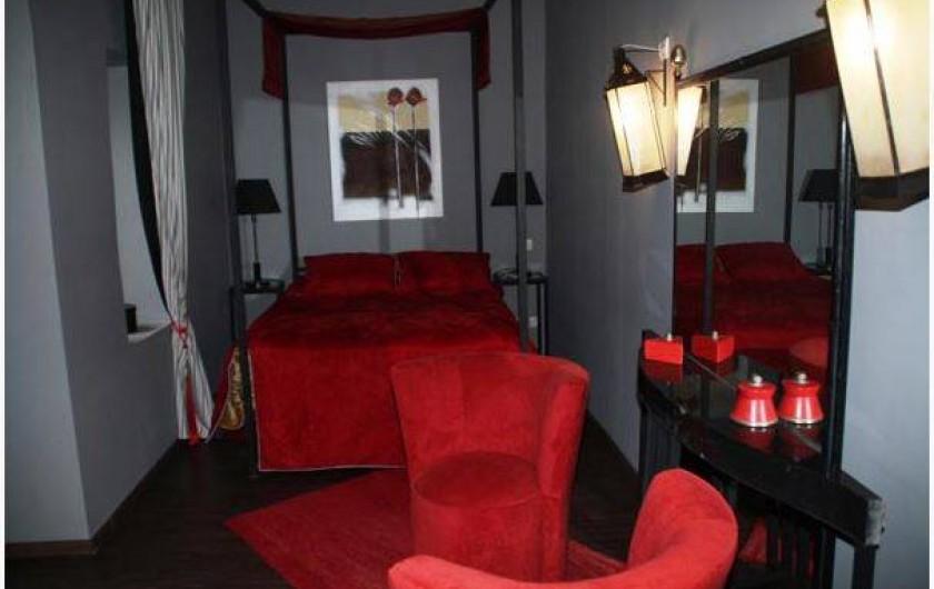 Location de vacances - Chambre d'hôtes à Marrakech - Chambre Rubis double