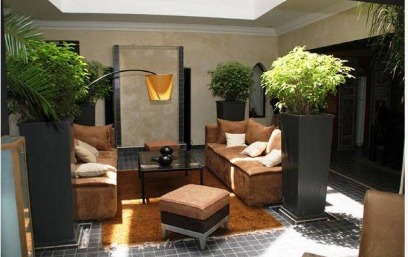 Location de vacances - Chambre d'hôtes à Marrakech - Patio