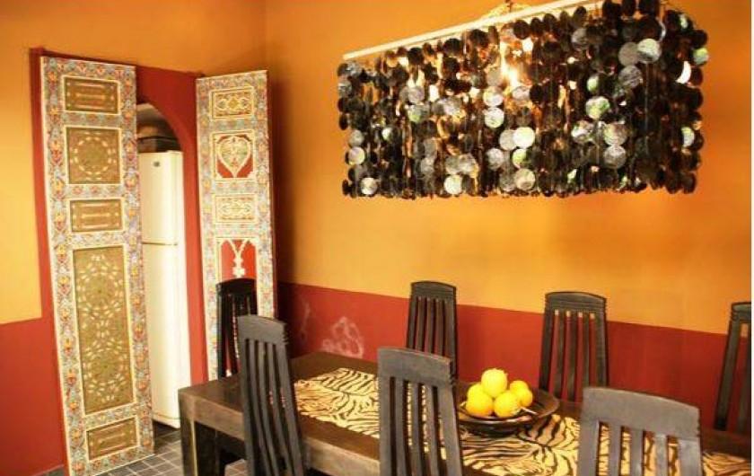Location de vacances - Chambre d'hôtes à Marrakech - Salle à manger