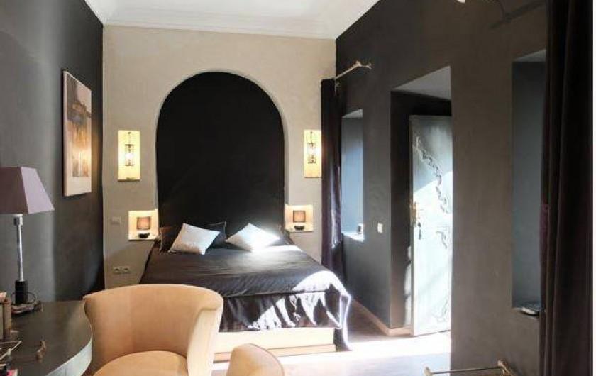 Location de vacances - Chambre d'hôtes à Marrakech - Chambre Ivoire double