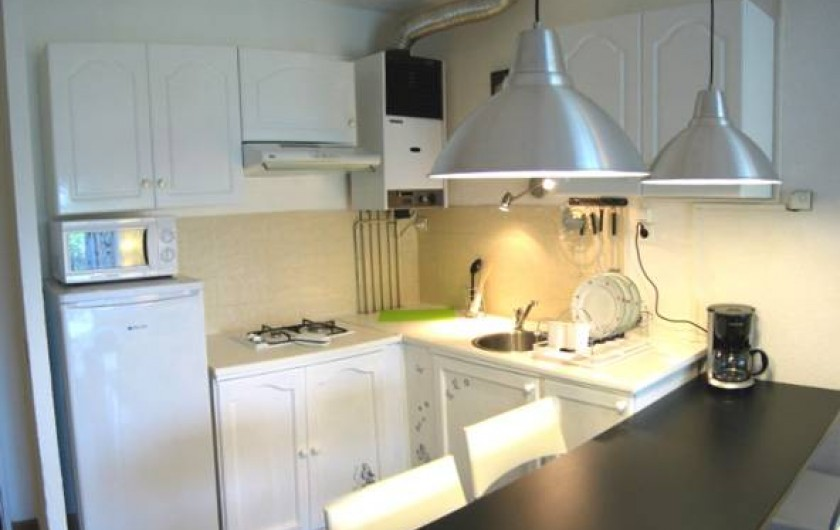 Location de vacances - Appartement à Saint-Cyprien Plage - cuisine
