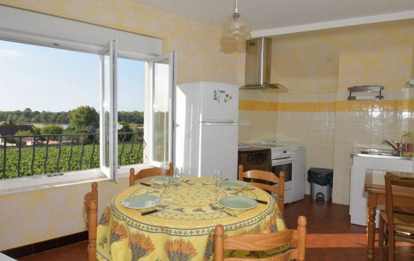 Location de vacances - Appartement à Pouilly-sur-Loire - Cuisine