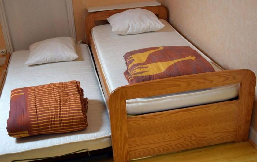 Location de vacances - Appartement à Pouilly-sur-Loire - Chambre n°2
