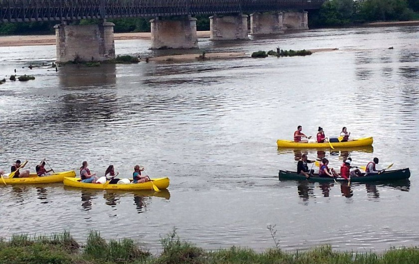 Location de vacances - Appartement à Pouilly-sur-Loire - canoê sur la Loire