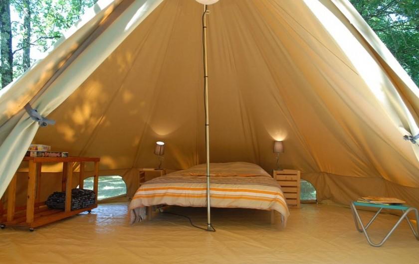 Location de vacances - Camping à Vic-sur-Cère