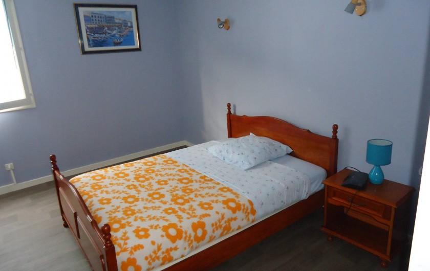 Location de vacances - Appartement à Morez - vue de la plus grande chambre