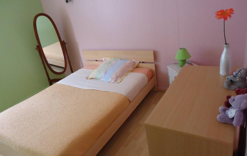 Location de vacances - Appartement à Morez - vue de la 2 eme cxhambre