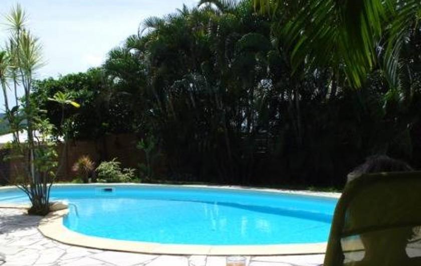 Location de vacances - Villa à Sainte-Luce - La piscine