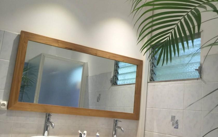 Location de vacances - Villa à Sainte-Luce - 2ème salle de bain