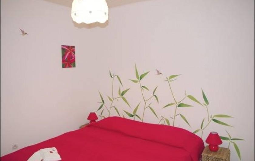 Location de vacances - Villa à Sainte-Luce - Chambre Colibri