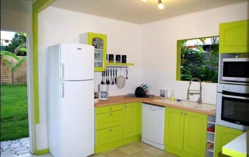 Location de vacances - Villa à Sainte-Luce - La cuisine