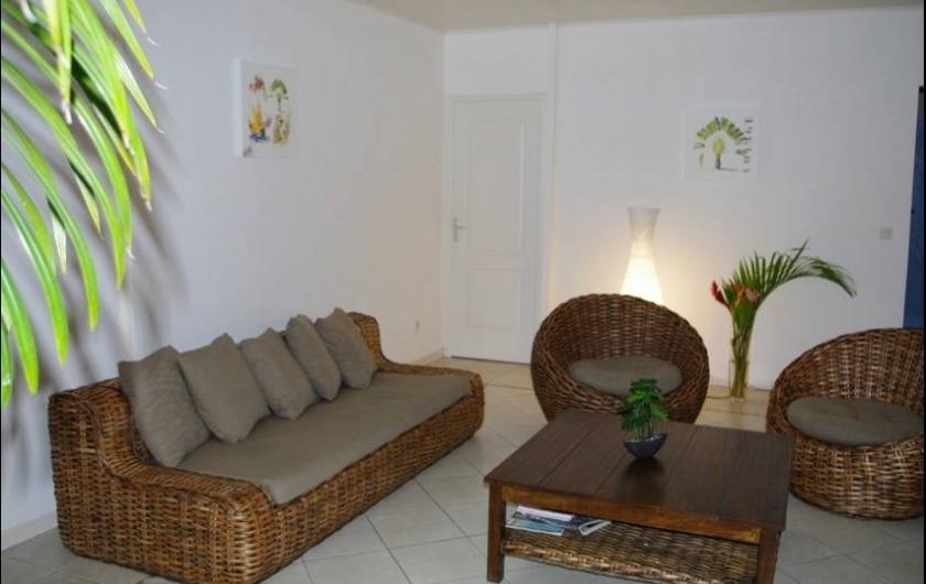 Location de vacances - Villa à Sainte-Luce - Le salon
