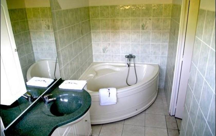 Location de vacances - Villa à Sainte-Luce - Salle de bain Bambou