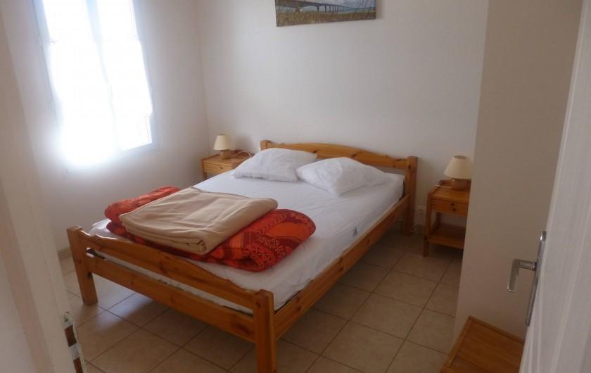 Location de vacances - Villa à Ars-en-Ré - Chambre lit double