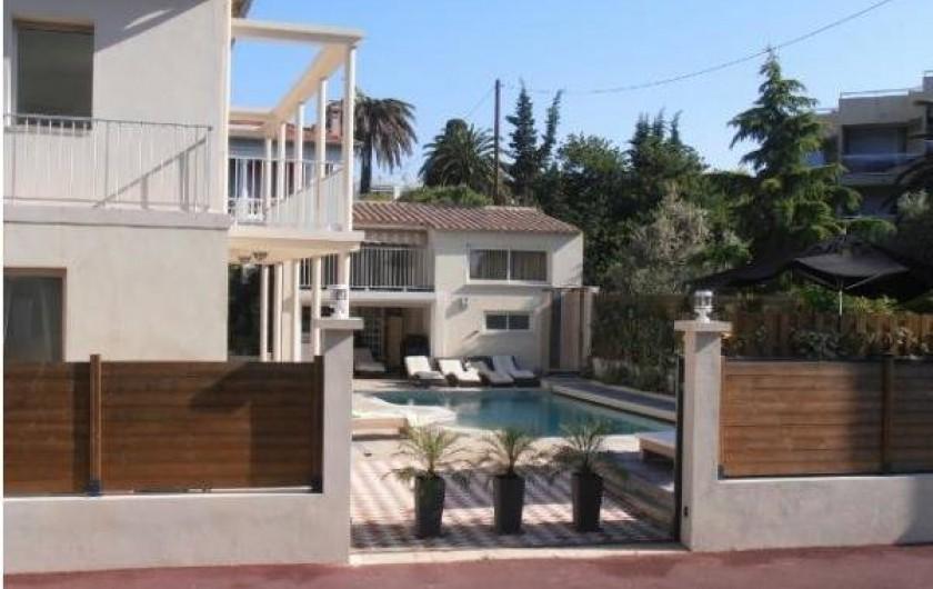 Location de vacances - Maison - Villa à Juan les Pins