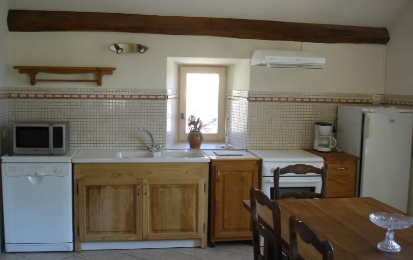 Location de vacances - Villa à Le Pompidou - cuisine