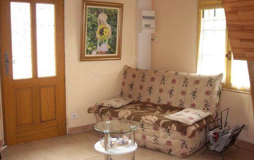 Location de vacances - Gîte à Berville-sur-Mer - coin salon